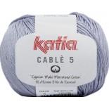 Cablé 5 - 6 - Azul grisáceo