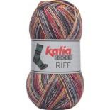 Riff Socks 51 - Rojo-Naranja-Gris