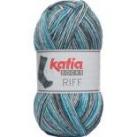 Riff Socks 54 - Gris-Turquesa