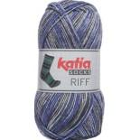 Riff Socks 55 - Gris-Azul