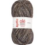 Komfort Tweed 64 - Gris-Marrón