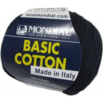 Basic Cotton 126/42 - Azul Marino