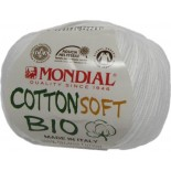 Cotton Soft Bio 100/160 - Blanco