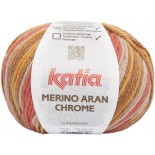 Merino Aran Chrome 254 - Marrones