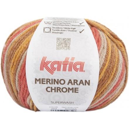 Merino Aran Chrome 254 - Marrones