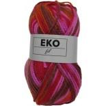 EKO fil 310 - Marrón-Rojo-Fucsia