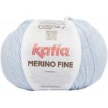 Merino Fine 8 - Celeste