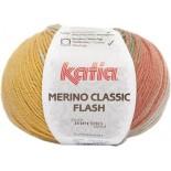 Merino Classic Flash 303 - Amarillo-Naranja-Beige