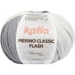 Merino Classic Flash 308 - Blanco-Negro-Grises