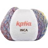 Inca 127 Beige-Rosa-Amarillo-Azul