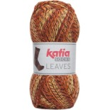 Leaves Socks 61 - Naranja