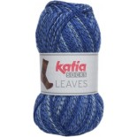 Leaves Socks 64 - Azul