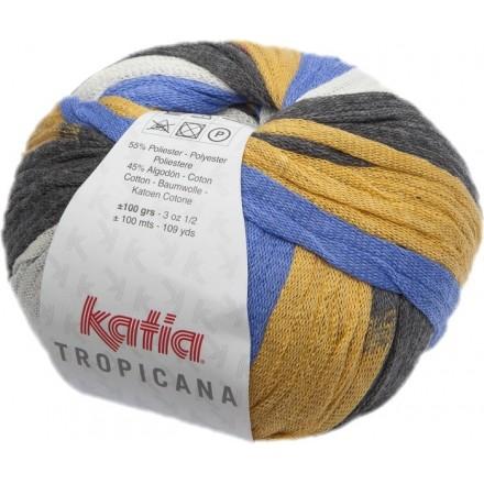 Tropicana 307 - Rosa-Turquesa-Verde-Amarillo
