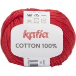 Cottón 100% 53 - Rojo brillante
