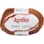 Lino 100% 28 - Naranja