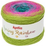 Spring Rainbow 56 Naranja/Beige/Verde