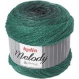 Melody 208 - Negro/Esmeralda