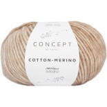 Cotton-Merino Plus 207 Gris oscuro/Gris medio