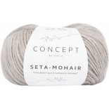 Seta-Mohair 306 - Gris perlado