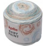Baby Paint 101 - Crudo-Celeste-Beige