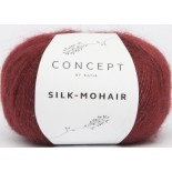 Silk-Mohair 216 - Granate