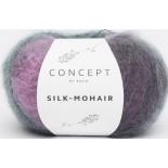 Silk-Mohair 715 - Violeta-Lila-Botella