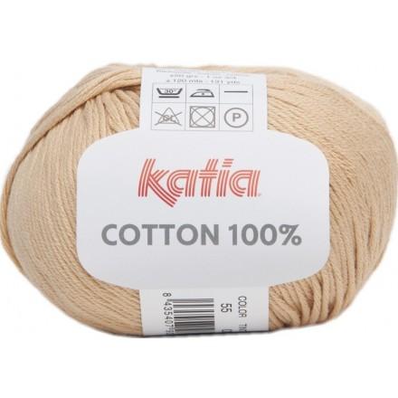 Cottón 100% 55 - Naranja Claro