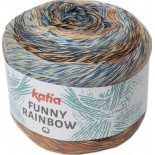 Funny Rainbow 102 - Agua-Beige-Amarillo-Naranja