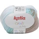 CANDY 670 - Verde azulado-Gris ágata