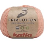 Fair Cotton 28 - Naranja salmón