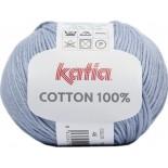 Cottón 100% 46 - Azul claro