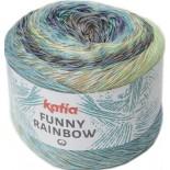 Funny Rainbow 104 - Malva-Amarillo-Verde menta-Azul