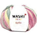 Washi Print 312 - Rosa-Amarillo-Verde-Beige