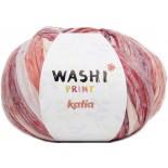 Washi Print 313 - Rojo-Rosa-Crudo-Naranja
