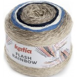 Flash Rainbow 101 - Beige-Azul-Crudo