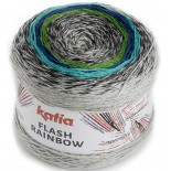 Flash Rainbow 103 - Gris-Azul-Verde