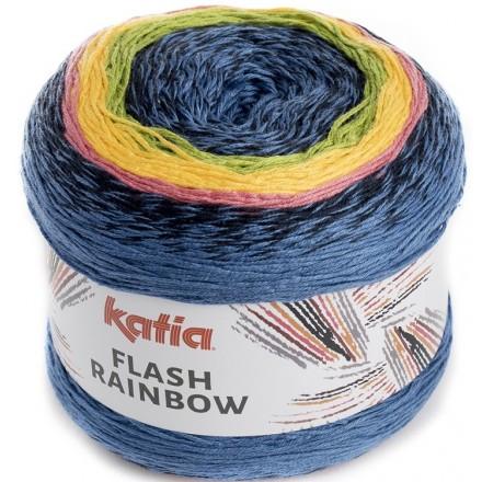 Flash Rainbow 104 - Gris-Azul-Verde