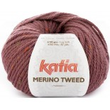 Merino Tweed 412 Rosa Oscuro
