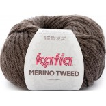Merino Tweed 303 Chocolate