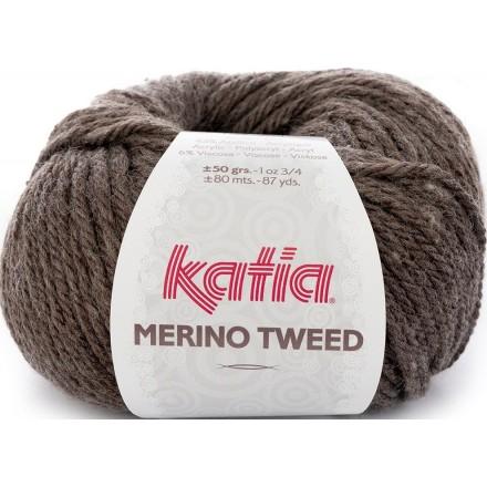Merino Tweed 303 Chocolate