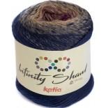 Infinity Shawl 303 - Marino/Tostado/Rosa