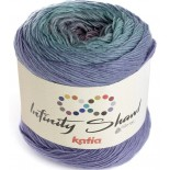 Infinity Shawl 307 - Lila/Agua/Malva
