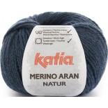 Merino Aran Natur 207 - Azul/Negro