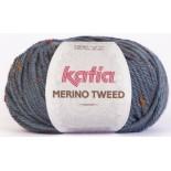 Merino Tweed 405 Jeans Oscuro