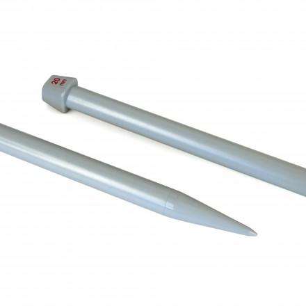 Agujas Katia de 40cm, de 20 a 25mm.