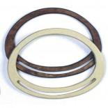 Maniglie ovale 22x16 cm (2 toni)