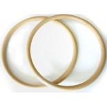 Circulaire Poignées 16 cm. 3 Tone