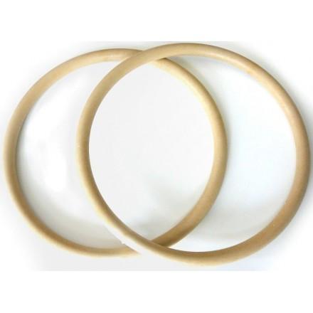 Asas Circulares 16cm. Beig