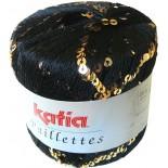 Paillettes 2903 Negro / Oro
