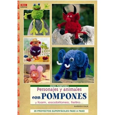 Personajes y Animales con Pompones